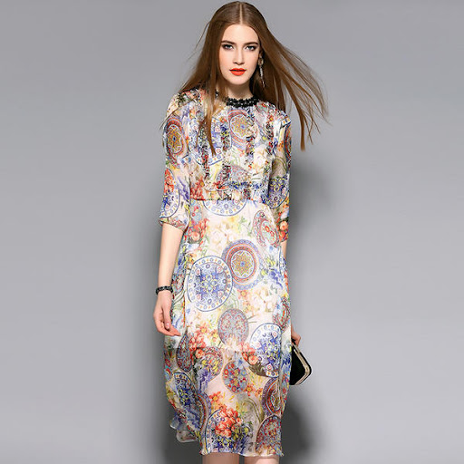 A New Fashion Dress With Silk Material Is A Great Investment